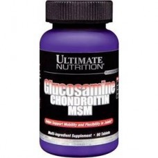 Glucosamine & Chondroitin + MSM 90 таб. Ultimate Nutrition