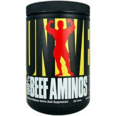 100% Beef Aminos 200 таб. Universal Nutrition